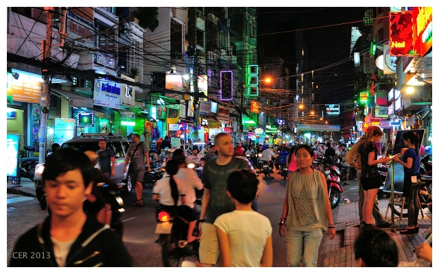 Streets of Saigon (November 2013)